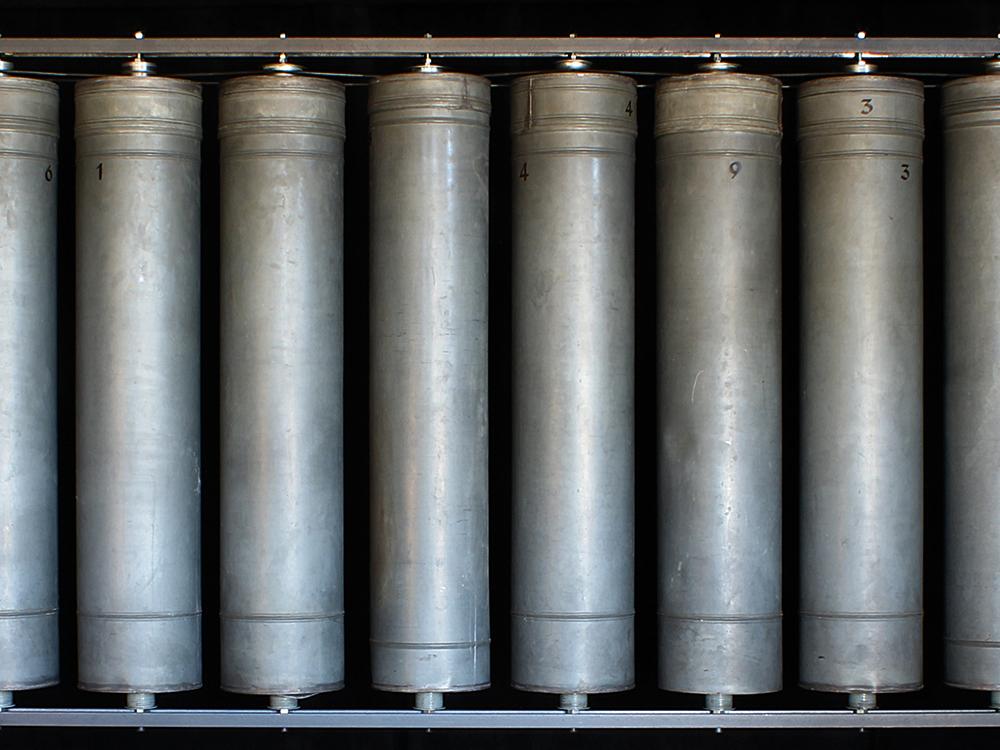Kunstmaschine Gebetsmühle II
