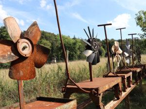Kunstmaschine Grand Fan Railroad