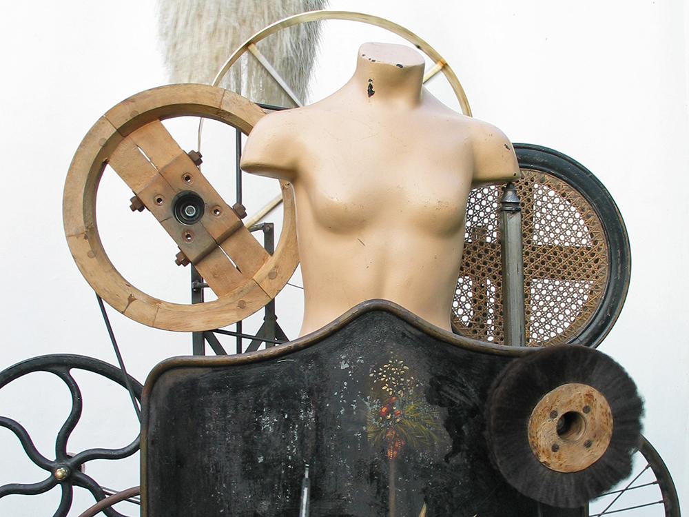 Kunstmaschine Les Gammas existent